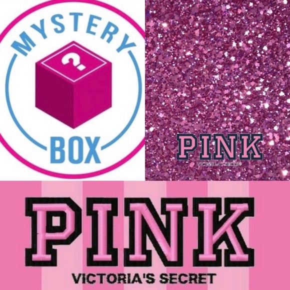 HUGE VS PINK MYSTERY BOX 18 ITEMS(WORTH OVER $400)
